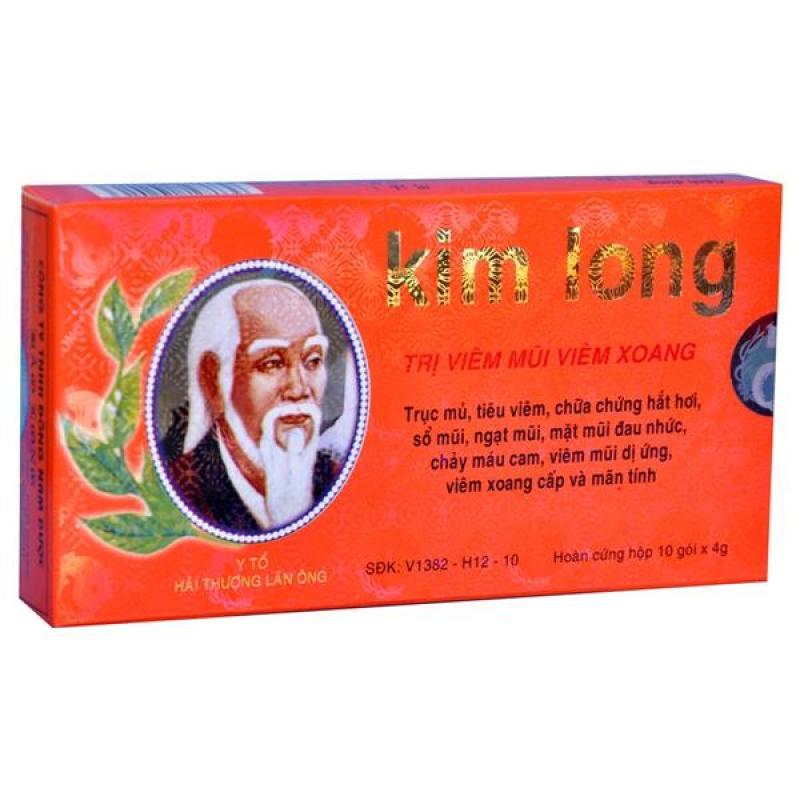 Viên uống trị viêm mũi viêm xoang Kim Long (10 gói )
