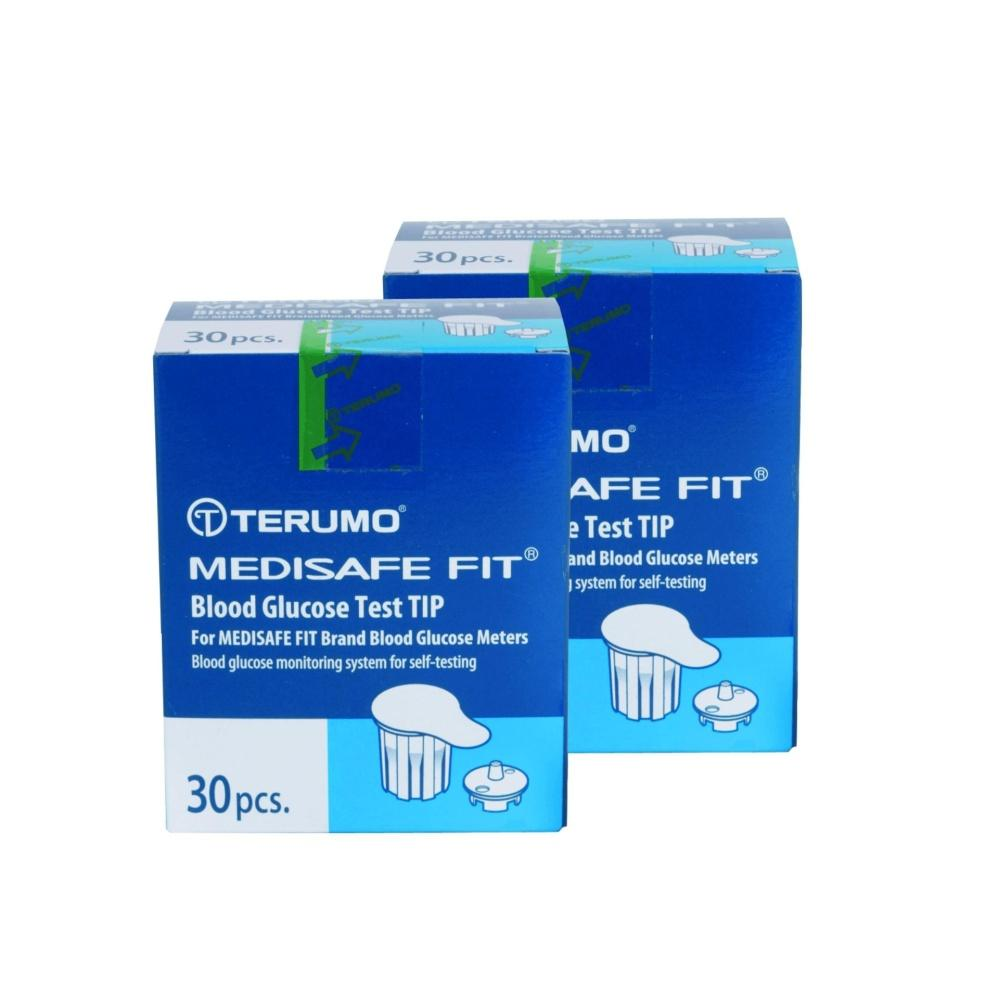 Combo đầu thử đường huyết Terumo Medisafe Fit