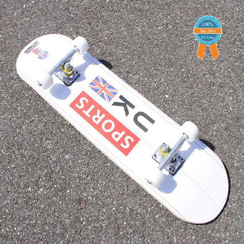 Giá bán Ván trượt skateboard thể thao gỗ phong ép 7 lớp mặt nhám