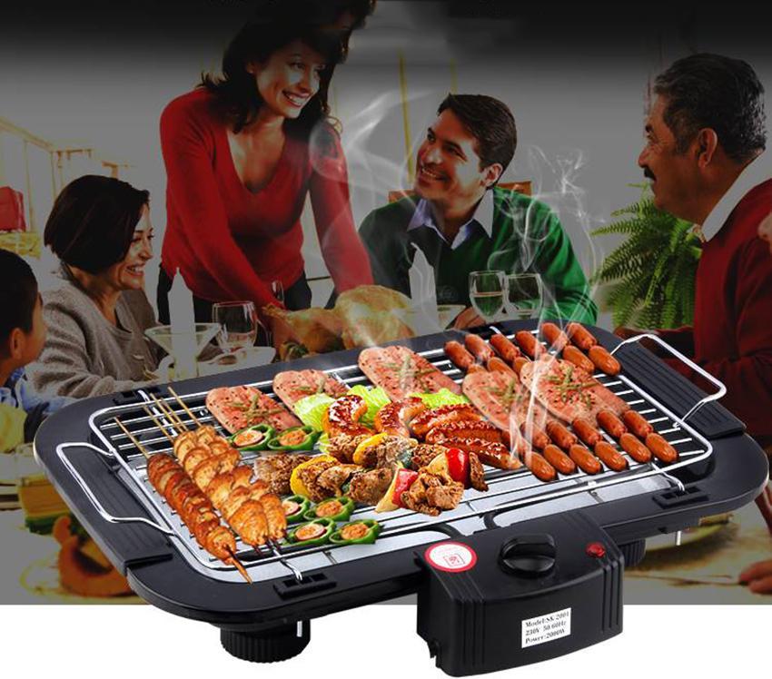 Bếp nướng lẩu , Bếp điện giá rẻ, Bếp nướng điện không khói, Thiết kế thông minh, Tiện dụng Mẫu294 - Bảo hành uy tín 1 đổi 1 bởi TOP