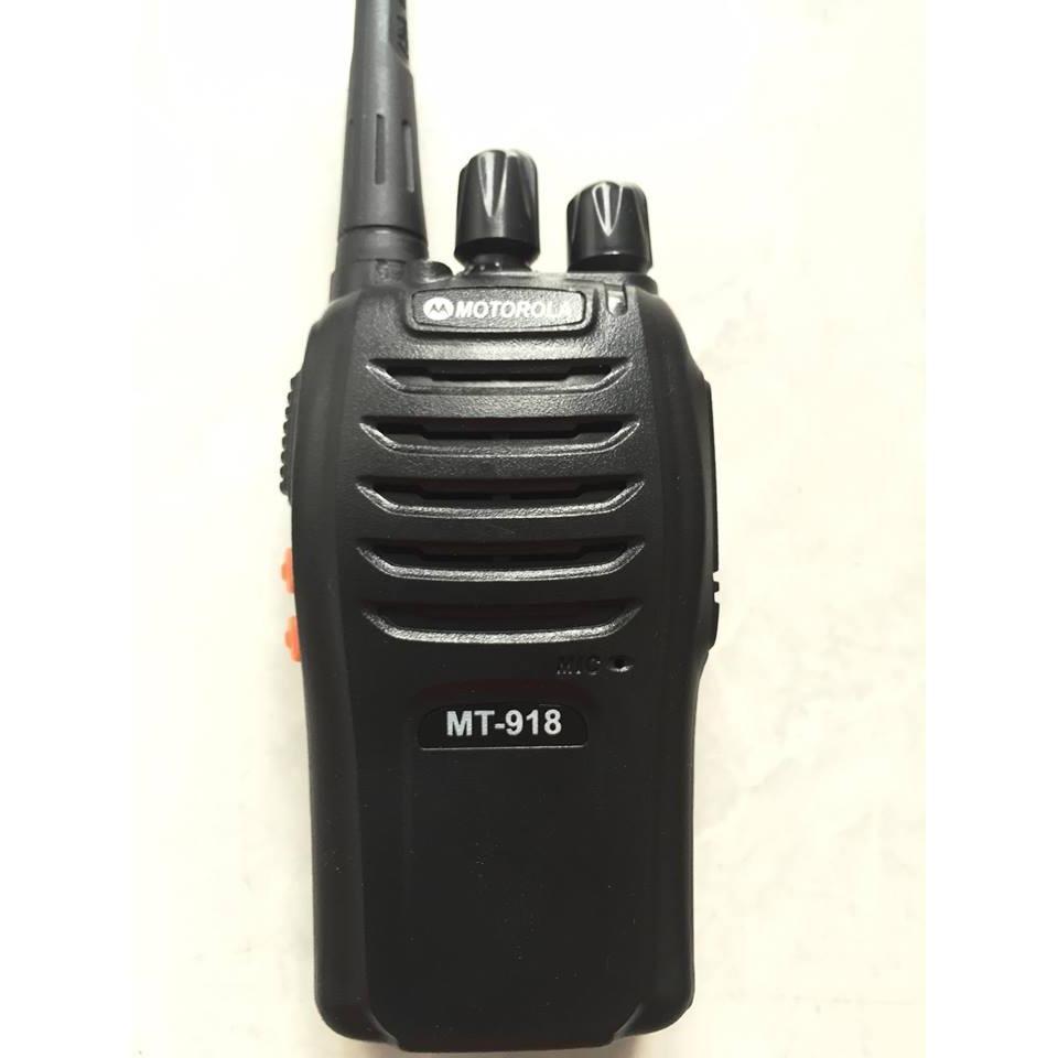 Bộ 2 Máy bộ đàm Motorola MT-918 (BN3)+Tặng 02 Tai nghe bộ đàm