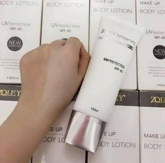Makeup Body Zoley - Kem ủ trắng khô Zoley