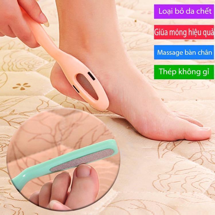 Hình ảnh Dụng cụ chà mịn gót bàn chân, giũa móng 2 trong 1