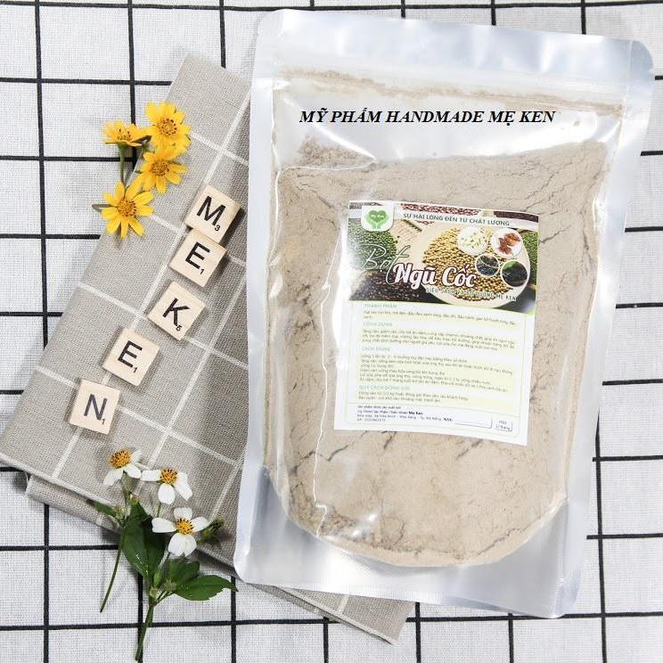 Bột ngũ cốc siêu sạch bổ dưỡng Mẹ Ken Uống lợi sữa, giảm cân, tăng cân, đẹp da, đẹp dáng ( 0.5 Kg)