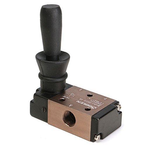 Van tay điều khiển khí nén 3 cửa 2 vị trí 3H210-08 G1/4 ren 13mm