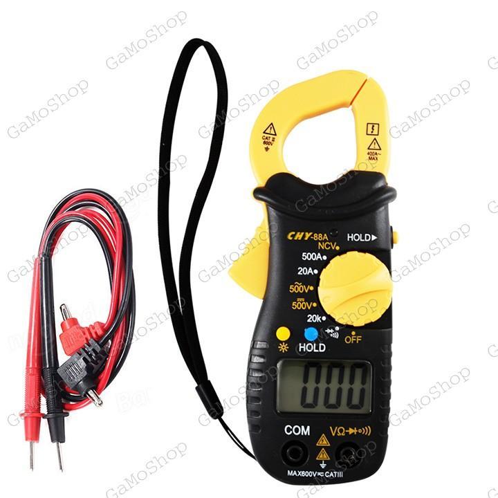 Ampe kìm bỏ túi CHY 88A ,chức năng NCV thử điện không tiếp xúc