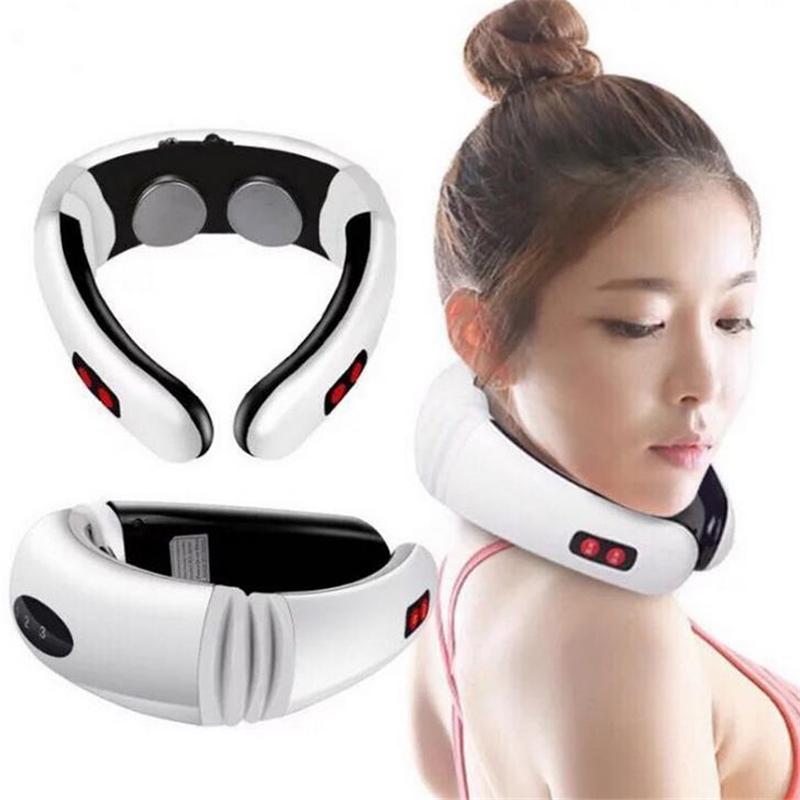 Massa gáy , Máy matxa cổ vai gáy - Máy massage cổ vai gáy - Giảm đau nhức, lưu thông tuần hoàn máu với Công nghệ 3D thông minh + Tặng kèm 2 miếng xung điệnMY-518 - Bh uy tín 1 đổi 1 - 3PT cam kết chất lượng
