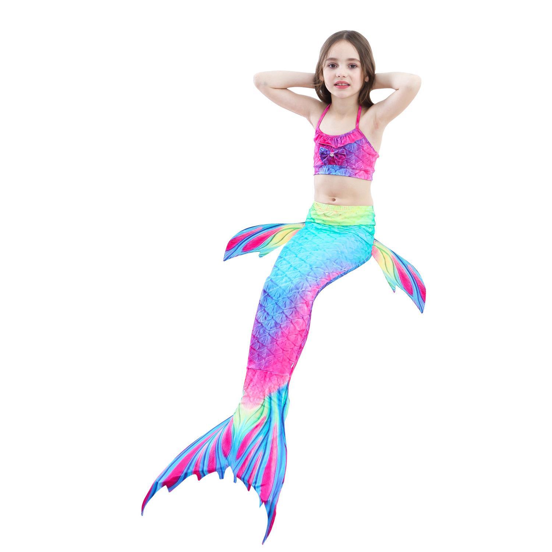 Giá bán Đồ bơi quần áo tắm nàng tiên cá cho mẹ và bé gái đi biển( CHƯA có chân vịt ) M219