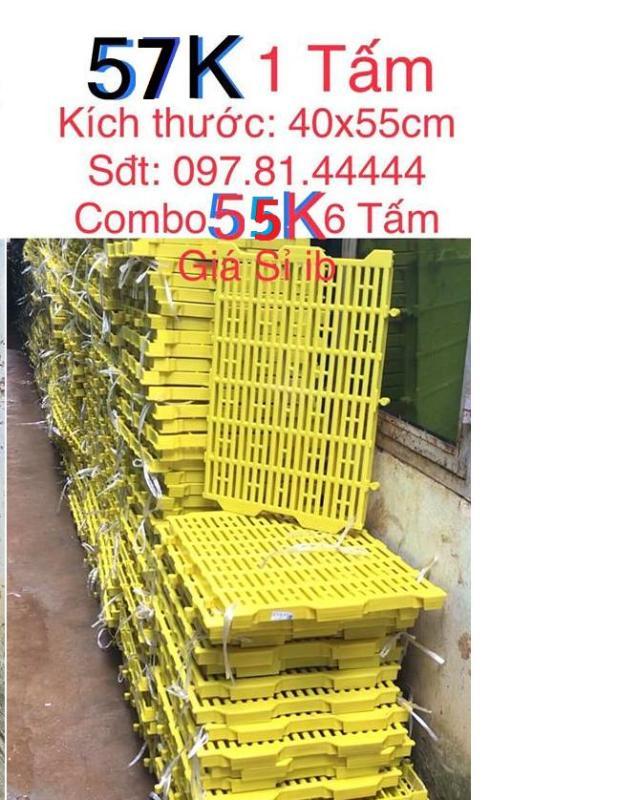Tấm lót sàn nhựa vàng vệ sinh cho chó mèo thú cưng 40x55cm (Bao trả nếu sàn kém chất lượng, yếu, mỏng)