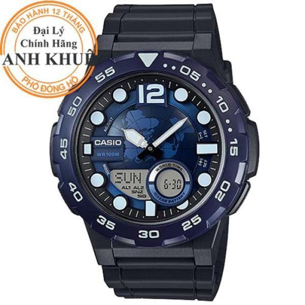 Nơi bán Đồng hồ nam dây nhựa Casio Anh Khuê AEQ-100W-2AVDF