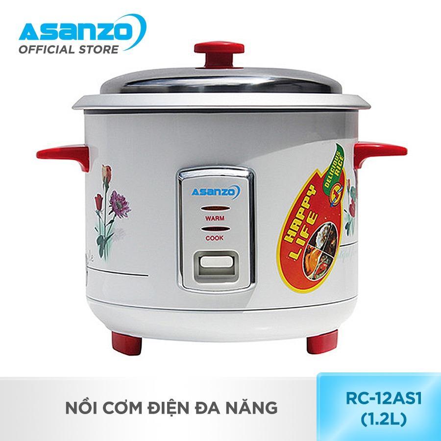 Hình ảnh Nồi cơm điện đa năng Asanzo RC-12AS1 (1.2 lít)