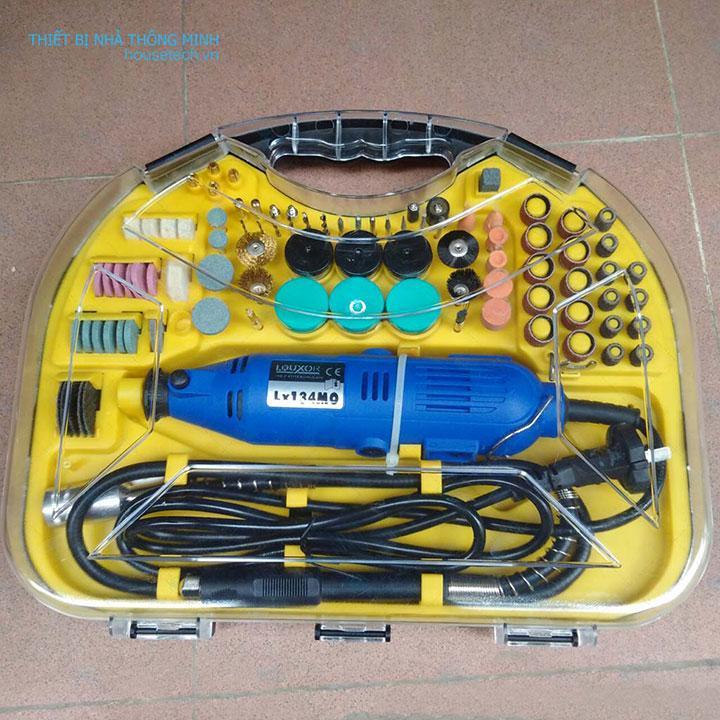 Bộ máy khoan mài khắc mini đa năng 211 PCS HT365