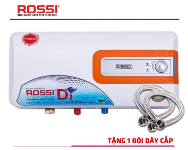 Bảng giá Bình nóng lạnh Rossi Di 15 Lít ( Tặng 02  dây cấp inox)