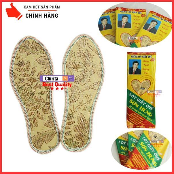 Bộ 2 Lót Giày Hương Quế Khử Mùi Thoáng khí Sơn Hùng - Thương Hiệu Việt - Chirita LGHQ41 giá rẻ
