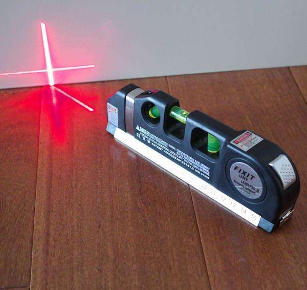 Thước đo khoảng cách bằng laser/thước đo laser cầm tay giá rẻ (Đen) - thước nivo laser