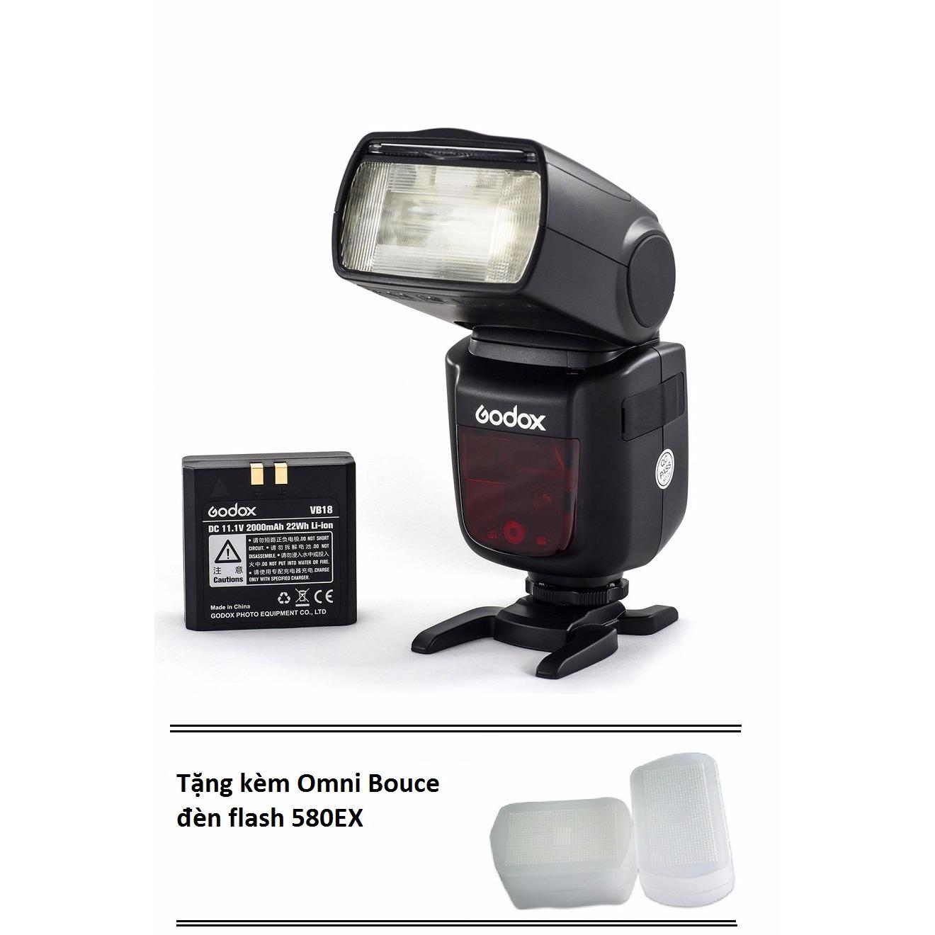 Ôn Tập Flash Godox Li Ion Ving V860Ii For Nikon Kem Pin Sạc Tặng Kem 1 Omni Bounce Flash Đen