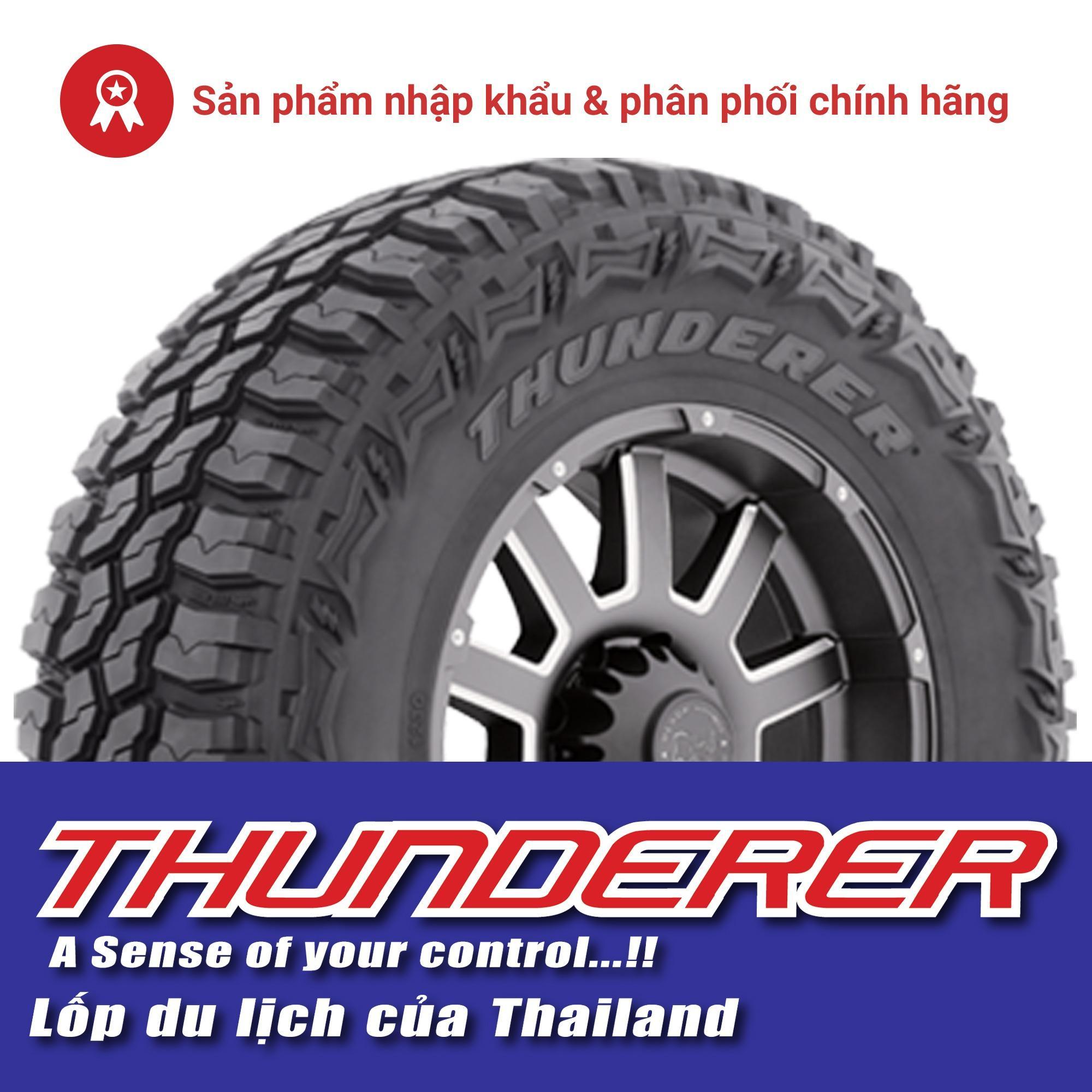 Thay lốp (vỏ) M/T 245/75R16 10PR 120/116Q R408 Thunderer TracGrip 2 chính hãng cho xe pickup (bán tải) Ford F150 Nhật Bản