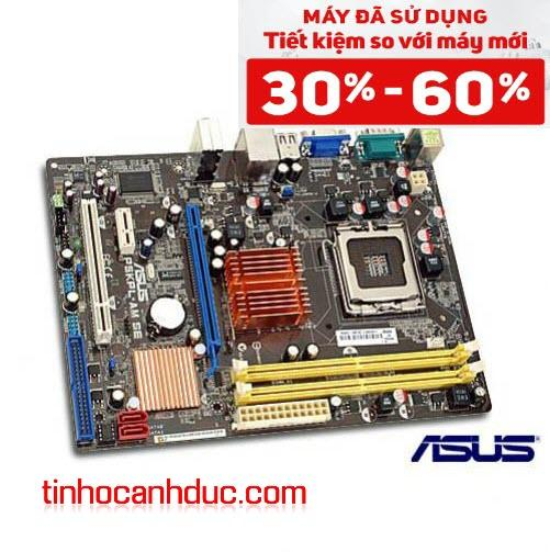 Mainboard G31 ASUS P5KPL-AM SE FULL ON