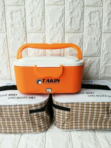 Hộp cơm điện hâm nóng TAKIN TK-68 lòng inox + Tặng túi da cao cấp Có bảo hành