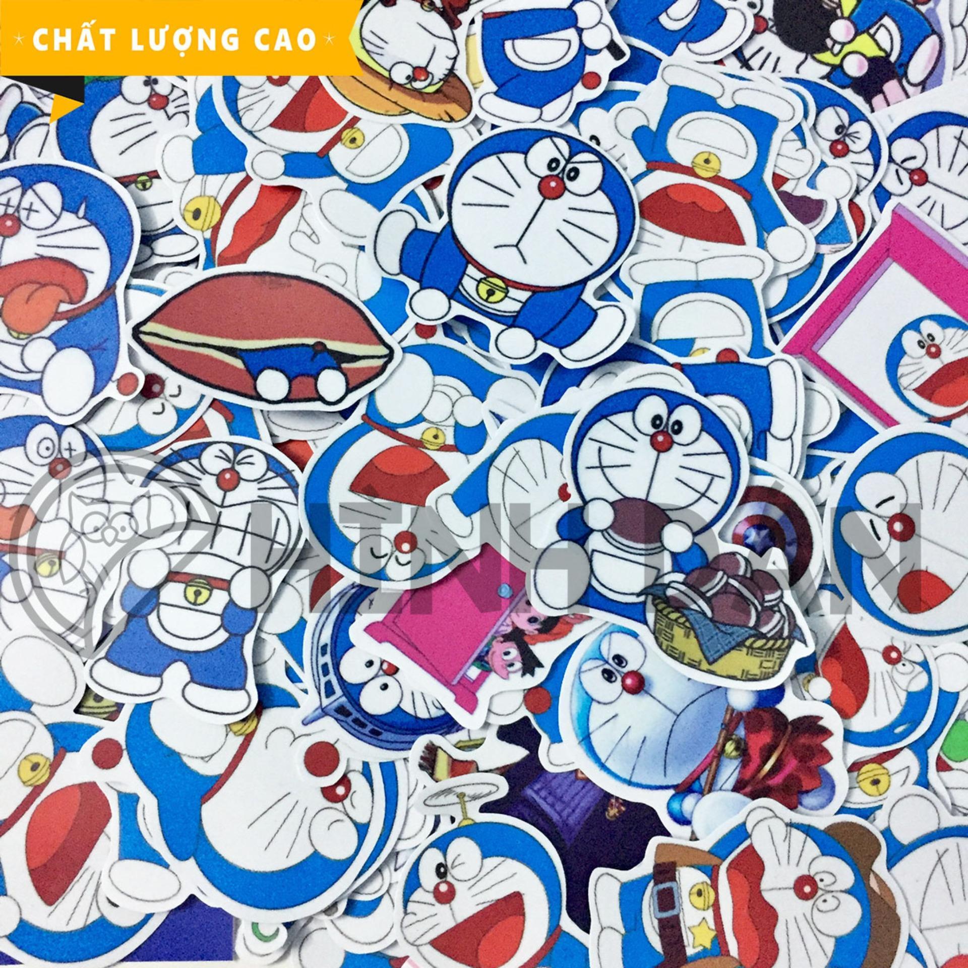 Hình ảnh Bộ Sticker Chủ Đề Doraemon (2018) Hình Dán Decal Chất Lượng Cao Chống Nước Trang Trí Va Li Du Lịch, Xe Đạp, Xe Máy, Laptop, Nón Bảo Hiểm, Máy Tính Học Sinh, Tủ Quần Áo, Nắp Lưng Điện Thoại