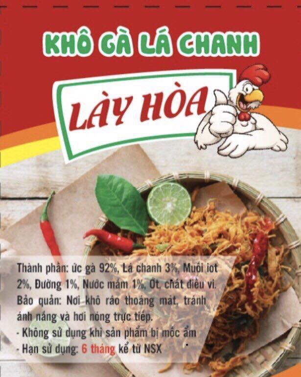 Bán Mua Trực Tuyến Kho Ga Cay Gion Lay Hoa 1 Kg Bịch Ziper