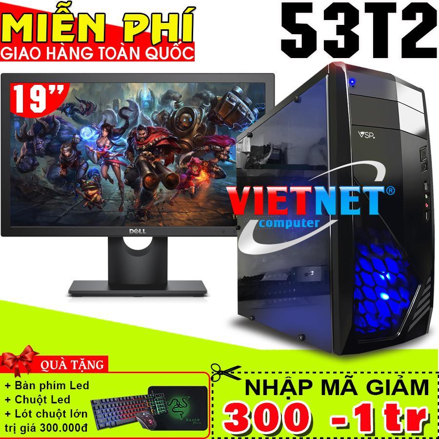 Hình ảnh Máy tính chơi game VNgame 53T2 core i5 3470 GT730 8GB 500GB + Dell 19inch