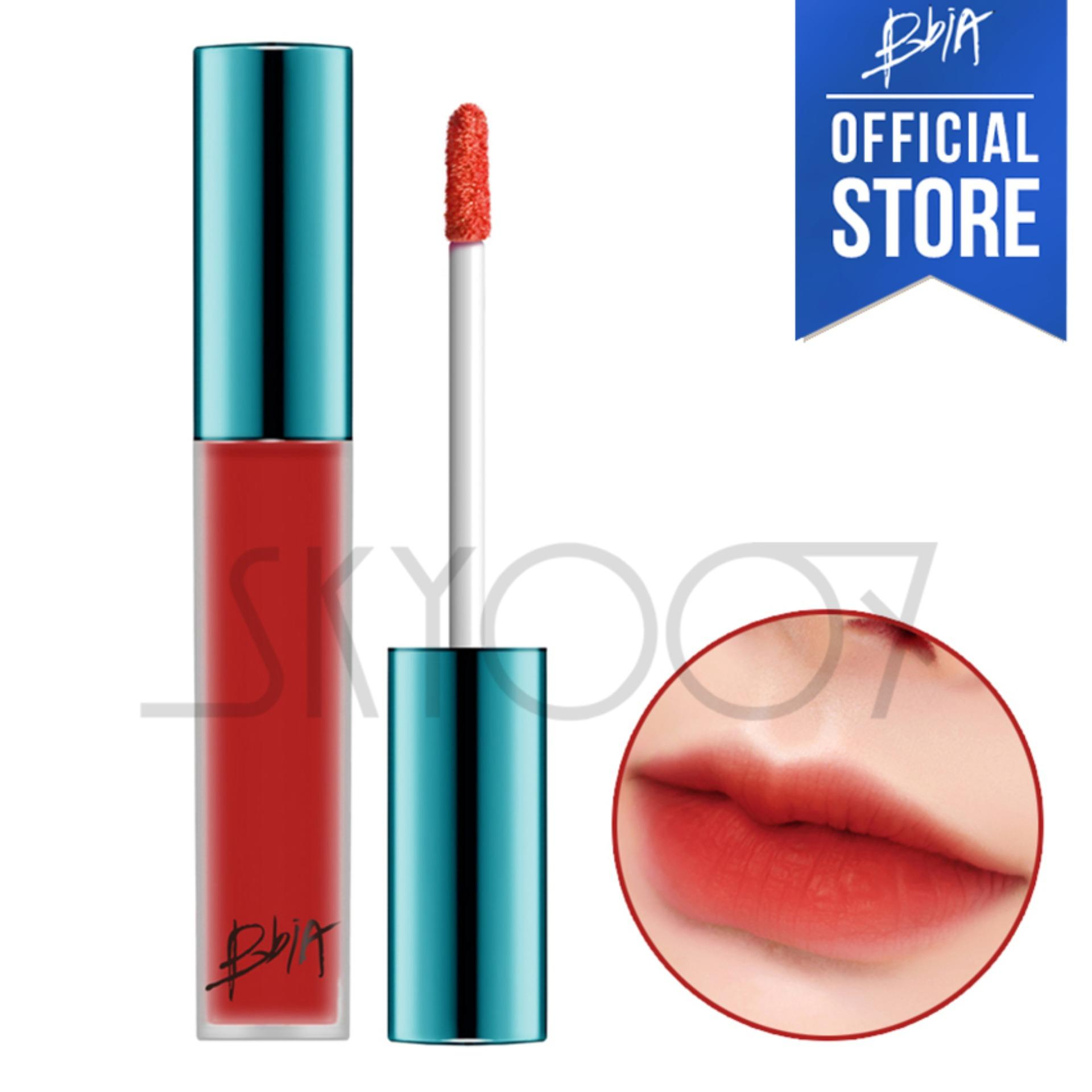 Son kem lì Bbia Last Velvet Lip Tint Version 1 - 04 Extra Mood (Màu đỏ) nhập khẩu