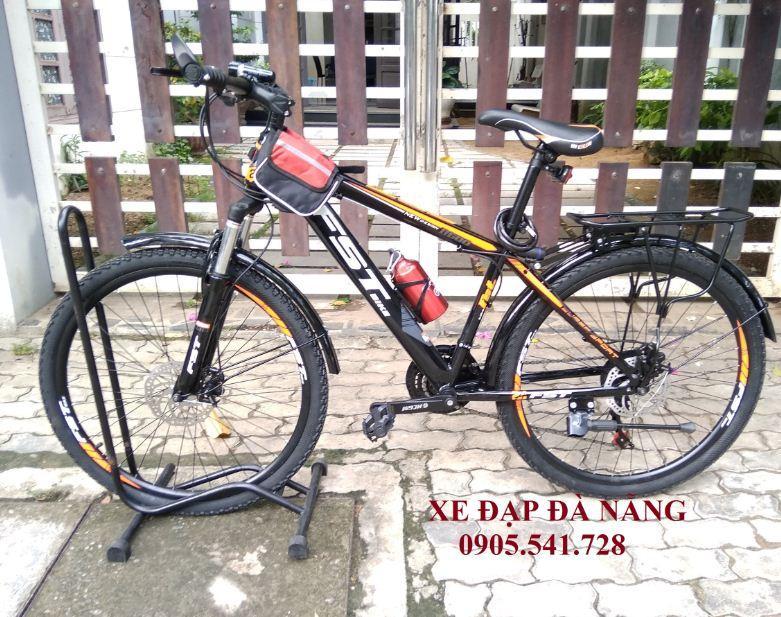 Xe đạp FST Bike size bánh 26inch màu cam đen