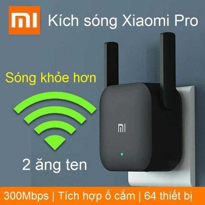 Hình ảnh (Có video cài đặt) Kích sóng Xiaomi Mi Wifi Repeater Pro phiên bản mới - Tốc độ lên tới 300Mbps