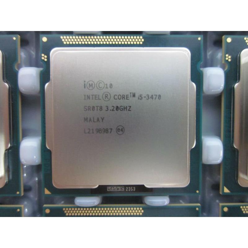 Bộ vi xử lý - Intel® Core™ i5-3470 Processor (6M Cache, 3.20 GHz) ( 4 lõi, 4 luồng)  ( Bảo hành 12 tháng ), Tặng quạt CPU ,Keo Tan nhiệt - Hàng Nhập Khẩu