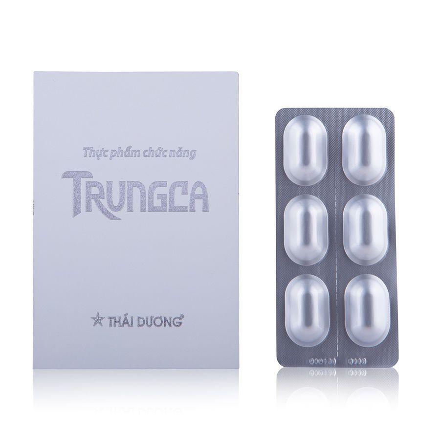 Bộ sản phẩm viên uống TRUNGCA và nước bôi TRUNGCA