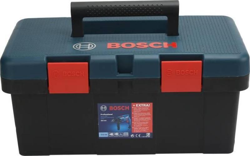 Bộ máy khoan BOSCH GSB 550 Freedom SET 550W và 90 chi tiết kèm hộp đựng dụng cụ (Xanh)