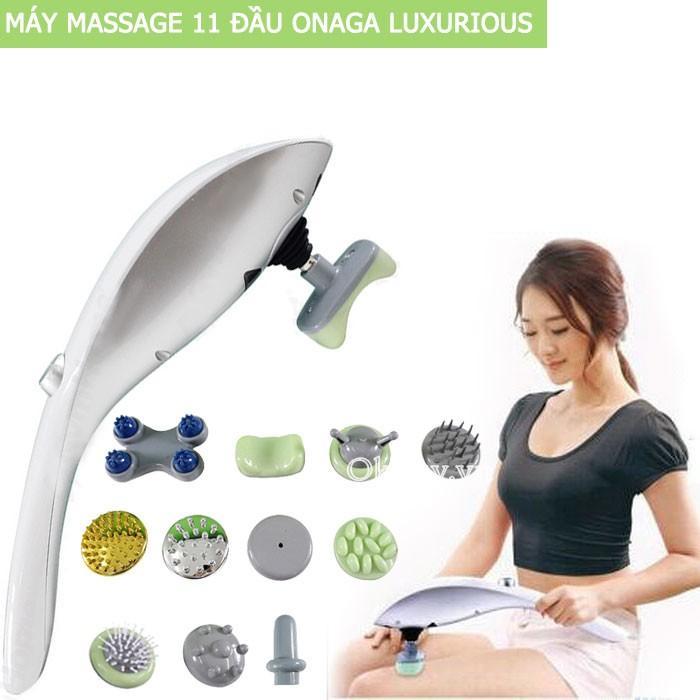 Hình ảnh Máy massage hồng ngoại cầm tay 11 đầu CÔNG NGHỆ NHẬT BẢN