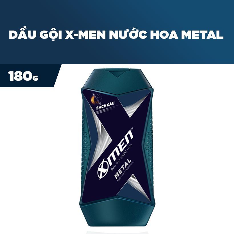 Dầu Gội Nước hoa X-Men Metal 180g