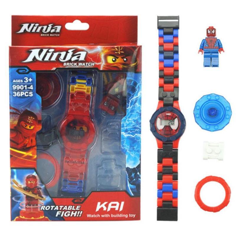 Đồng hồ Ninja cool ngầu cho bé trai bán chạy