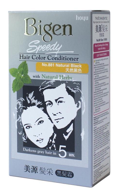 Thuốc nhuộm tóc phủ bạc dạng kem Bigen Speedy Hair Color Conditioner 80ml nhập khẩu