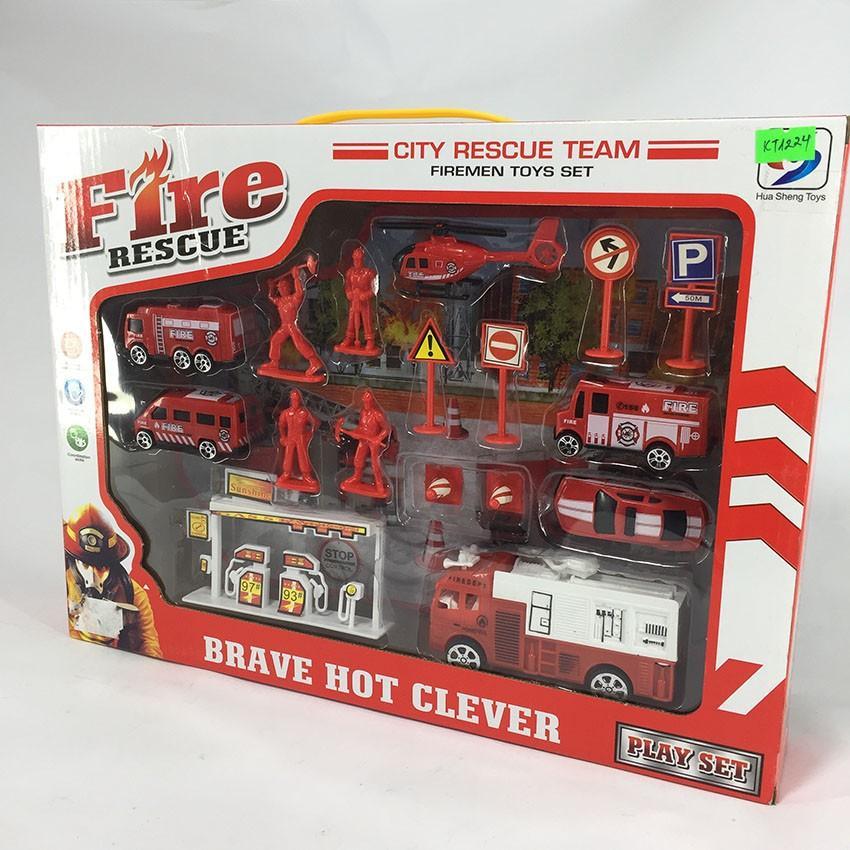 Hình ảnh Xe cứu hỏa Brave Hot clever STB1224