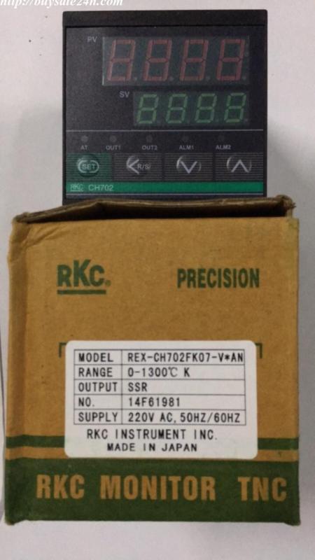 Đồng hồ nhiệt 2 ngõ ra điều khiển CH702