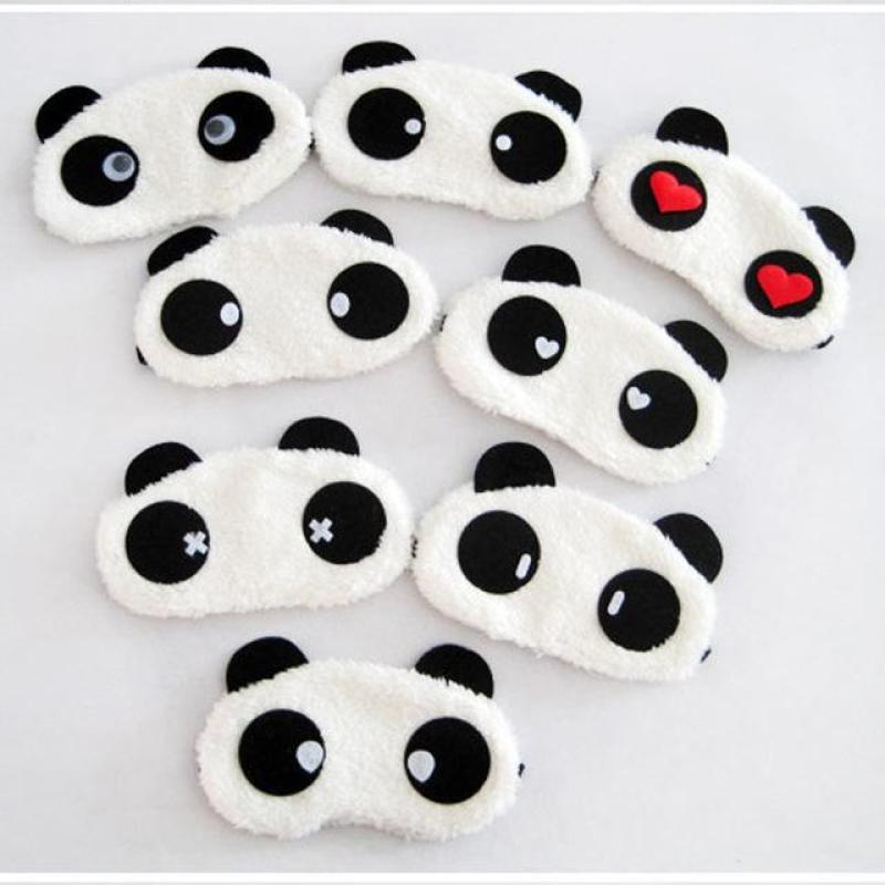 Tấm che mắt du lịch hình gấu Panda (giao hàng ngẫu nhiên)