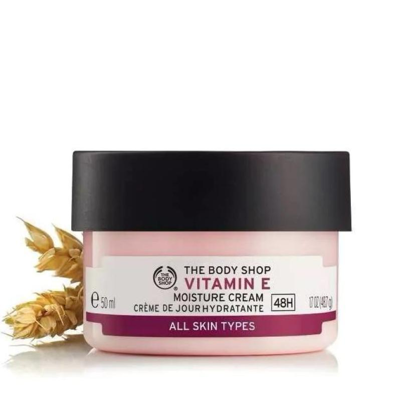 Kem dưỡng da chuyên sâu THE BODY SHOP Vitamin E Intense Moisture Cream 50ml nhập khẩu