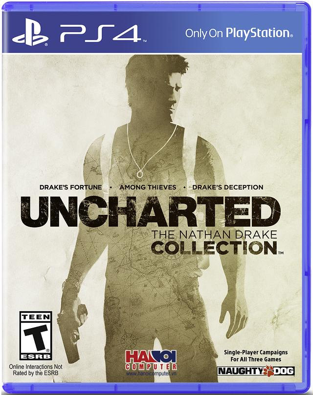 Đĩa Game PS4 Uncharted The Nathan Drake Collection - hệ US