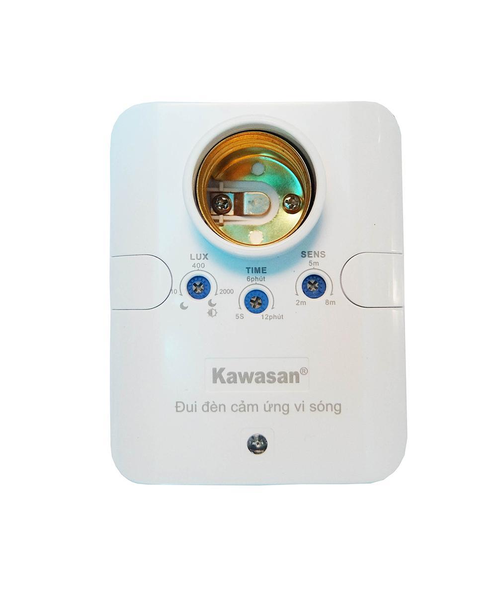 Đui đèn cảm ứng bật tắt tự động vi sóng Kawa RS686B (Công nghệ mới)