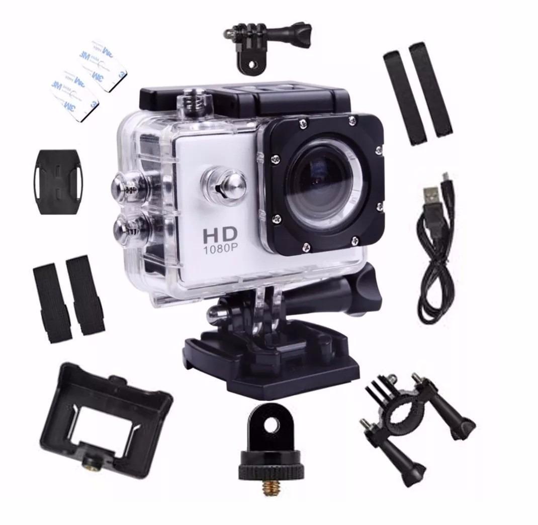 Hình ảnh Camera Hành Trình A9 full phụ kiên, hỗ trợ chống nước