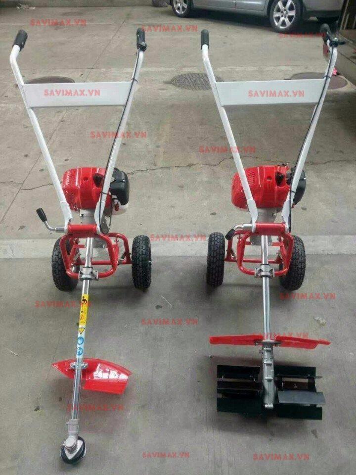 Máy xạc cỏ (cắt cỏ ) đẩy tay động cơ Honda GX35- 4 thì