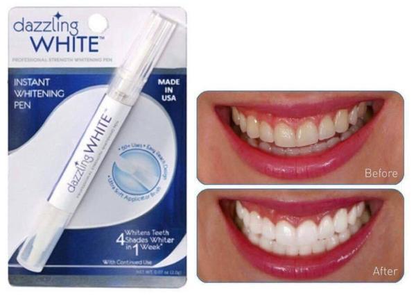 Bút tẩy trắng răng ( hàng tốt)  Dazzling White cho răng trắng sáng an toàn cho sức khỏe
