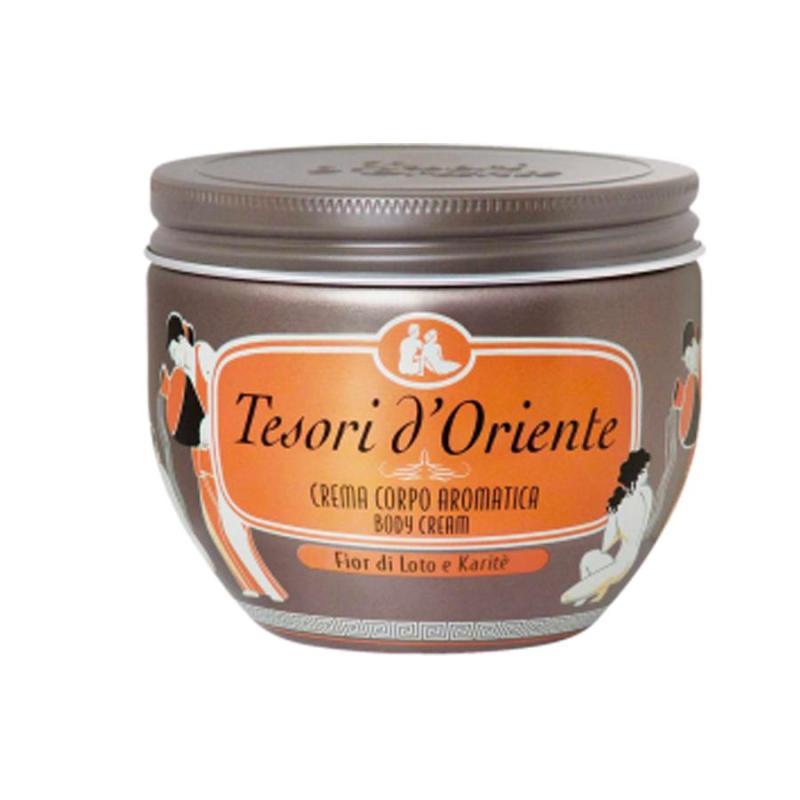Kem dưỡng da hương nước hoa Italia Tesori DOriente tinh chất Hoa Sen 300ml