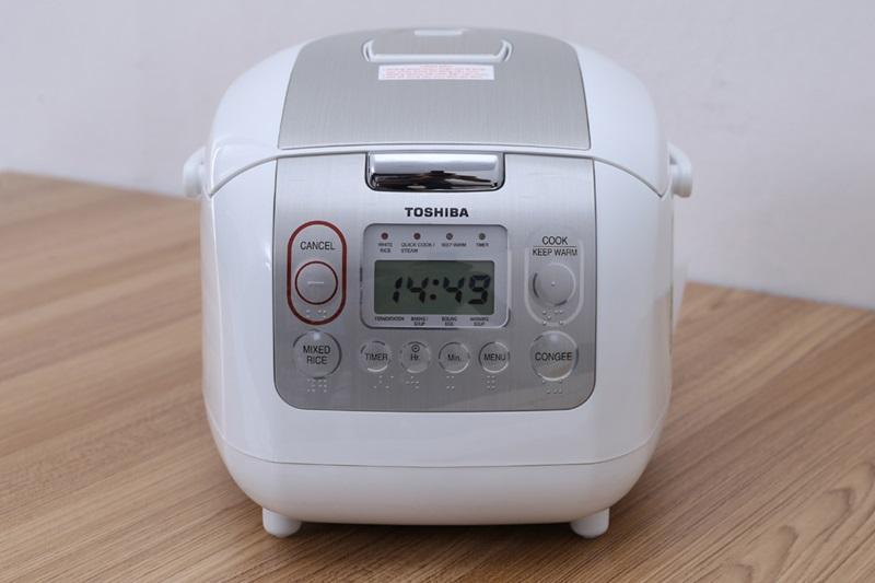 Offer Giảm Giá Nồi Cơm Điện Tử Toshiba RC-10NMFVN - 01 LÍT (WT) [Gian Hàng Uy Tín]