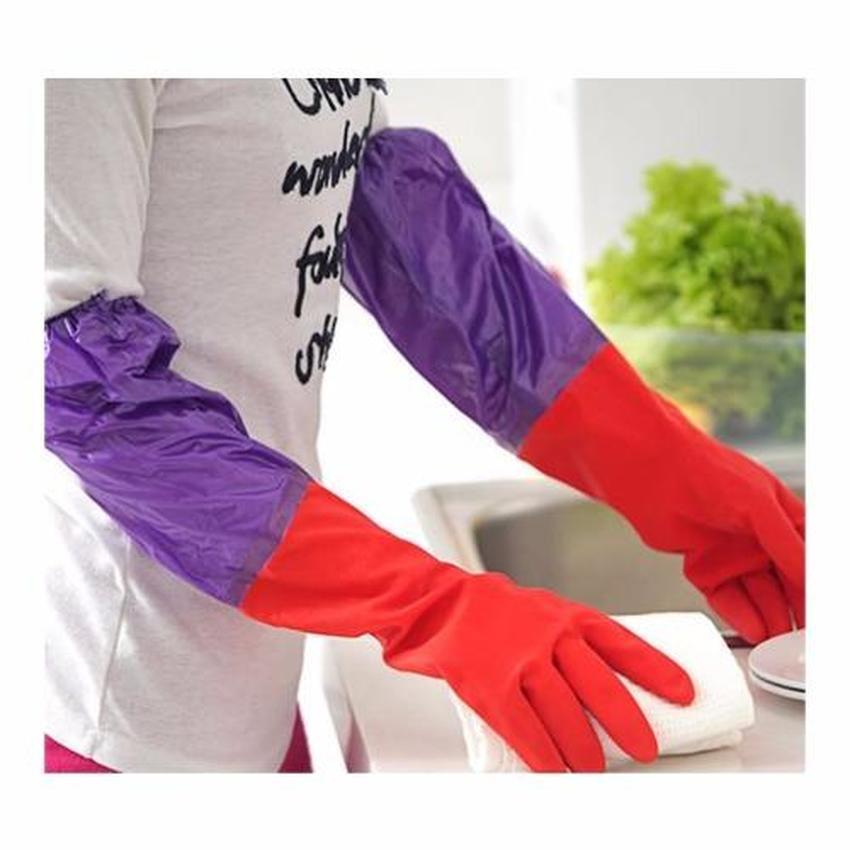Bộ 5 đôi gang tay rửa bát lót nỉ