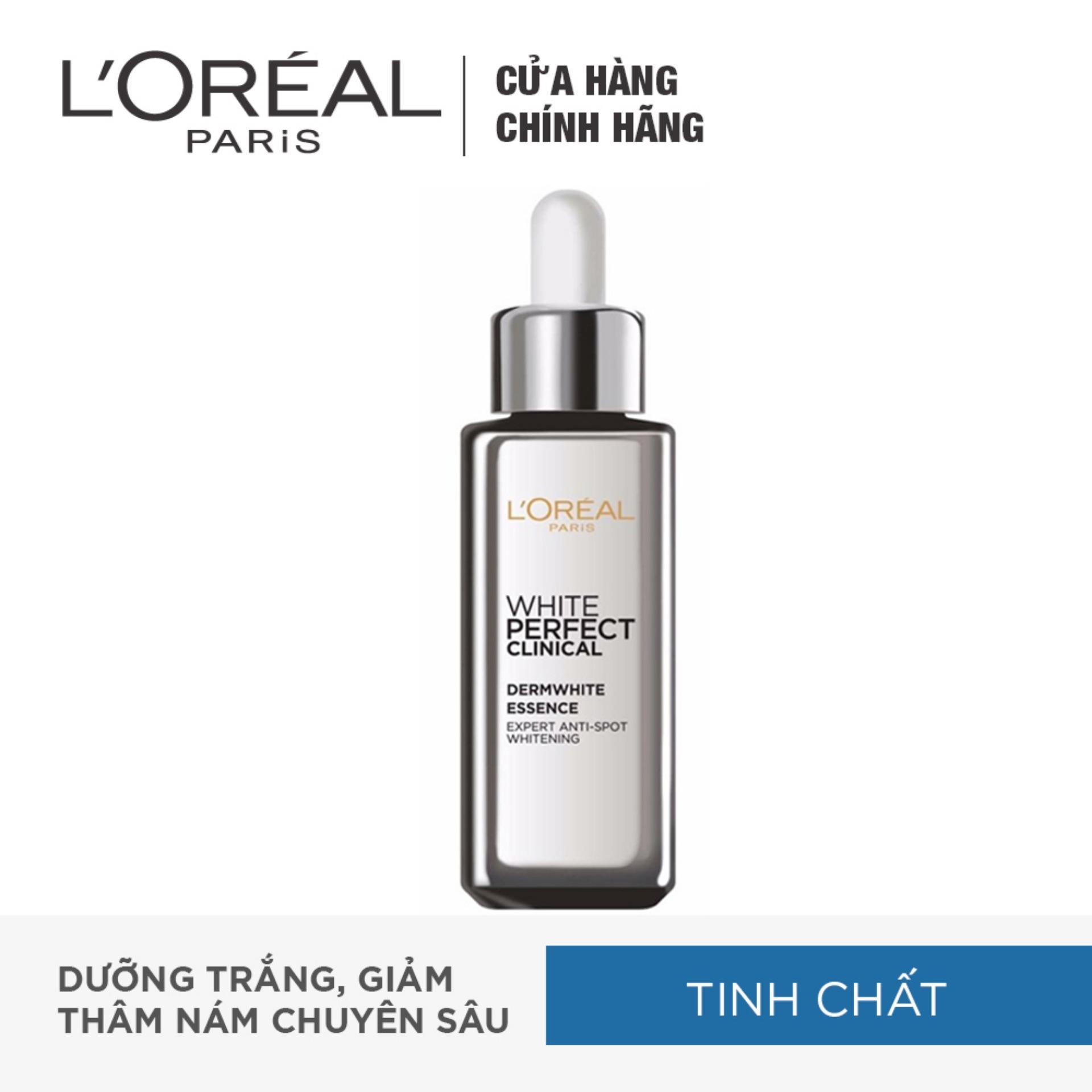 Tinh chất tăng cường dưỡng da trắng mịn và giảm thâm nám LOréal White Perfect Clinical 30ml