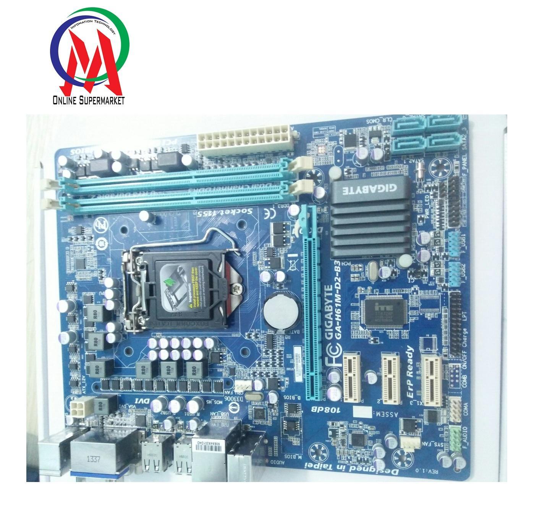 Main H61 Máy Bộ Có Cổng DVI và USB 3.0 BH 12 tháng